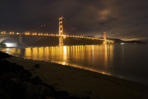 San Francisco, Golden Gate Bridge, honeymoon, romance