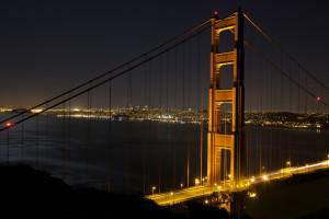 San Francisco, honeymoon, romance, Golden Gate Bridge
