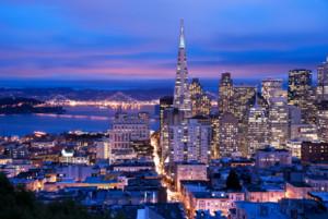 San Francisco, honeymoon, romance