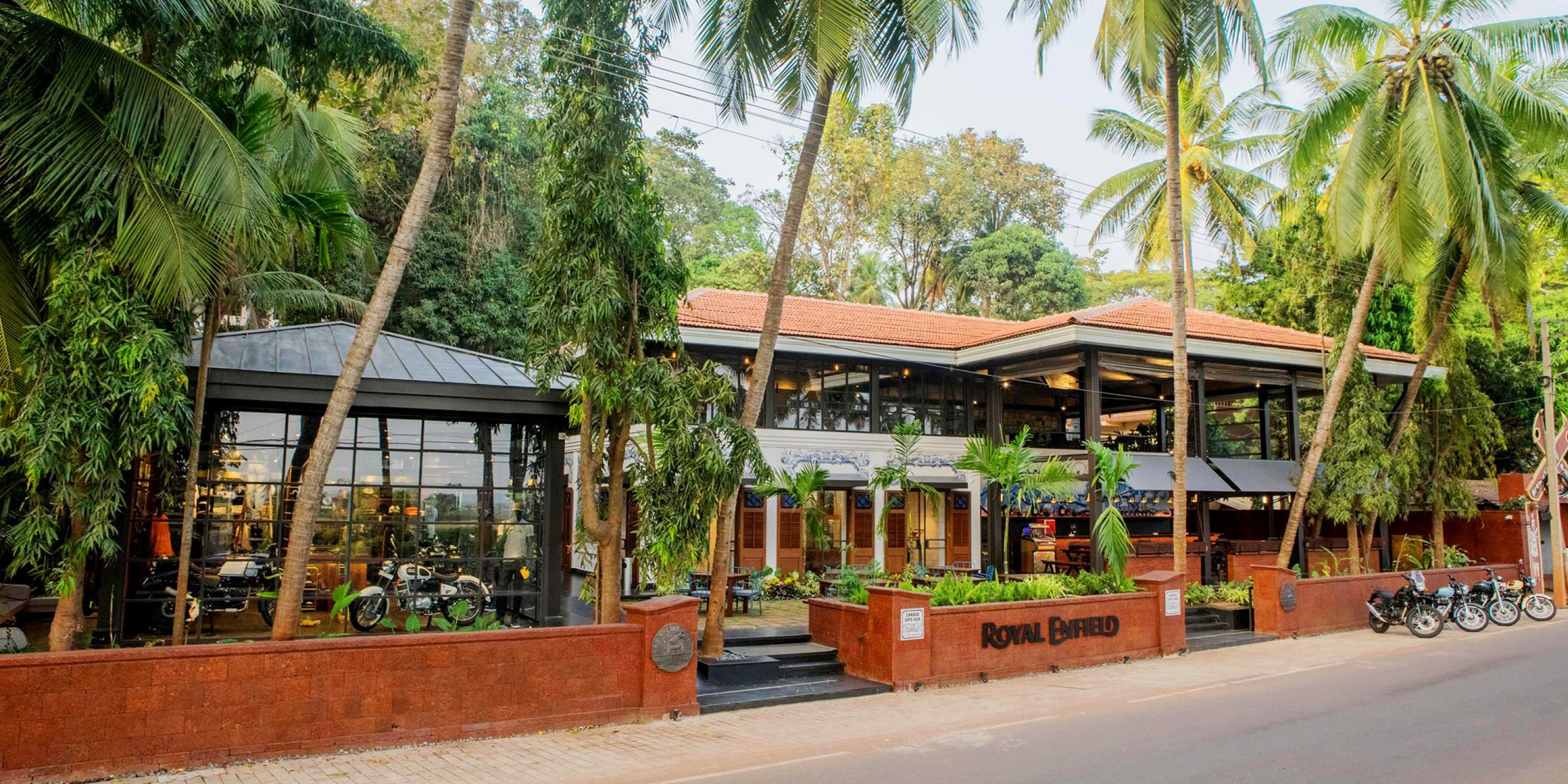 Royal Enfield Garage Café