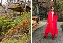 Dia Mirza's Japan Holiday
