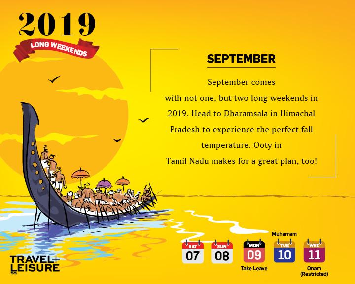 Long Weekend Travel Calendar8