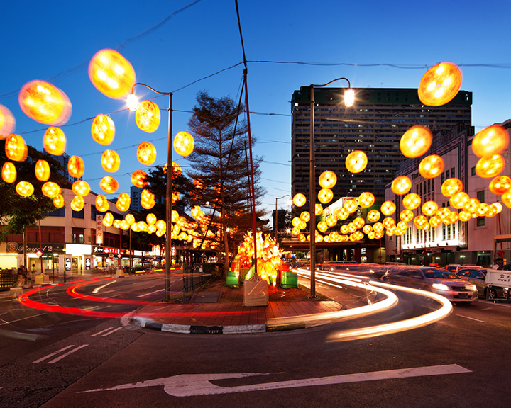 Chinese New year Street Light up