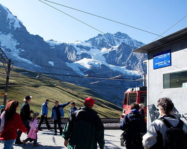 Highest train station in Europe