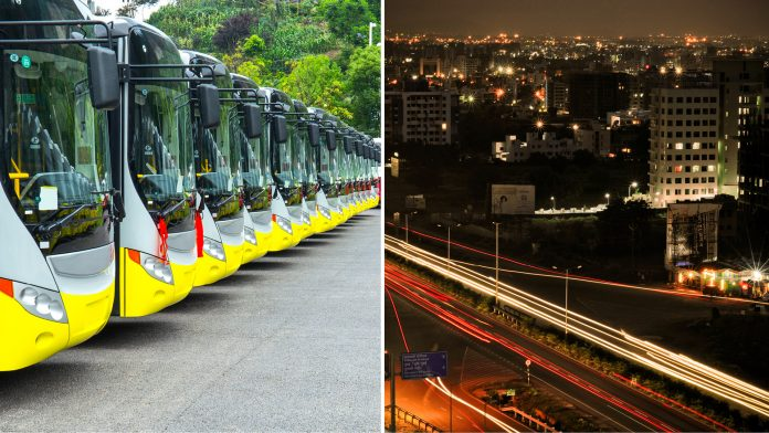Pune electric buses