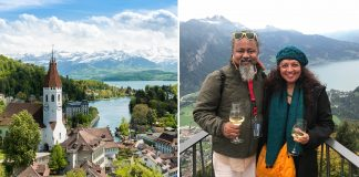 Romantic trip to Switzerland