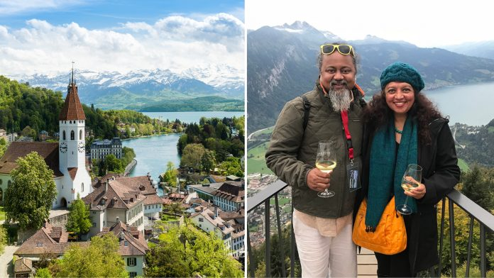 Romantic trip to Switzerland