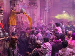 Holi In Vrindavan and Mathura