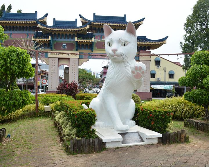 Cat City Kuching In Malaysia