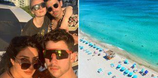 Priyanka Chopra & Nick Jonas's Miami Vacay