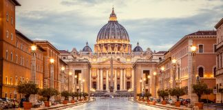 Vatican Is Unveiling Its Holy Staircase