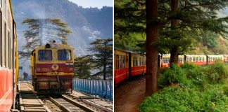 Toy Train Route In Himachal