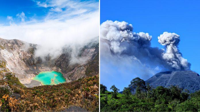 Volcanic Peaks Of Costa Rica
