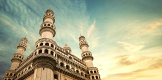 Hyderabad's Charminar Suffers Damage