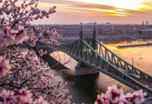 Budapest in spring