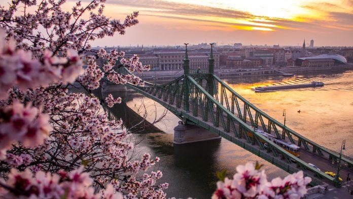 Budapest in spring
