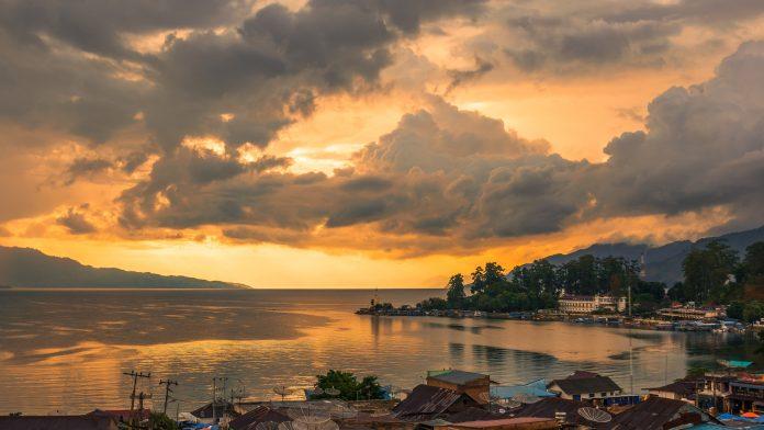 Lake Toba in Indonesia