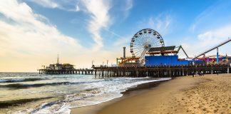 Santa Monica in summer