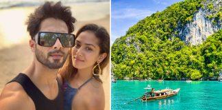Shahid Kapoor's Phuket Vacation