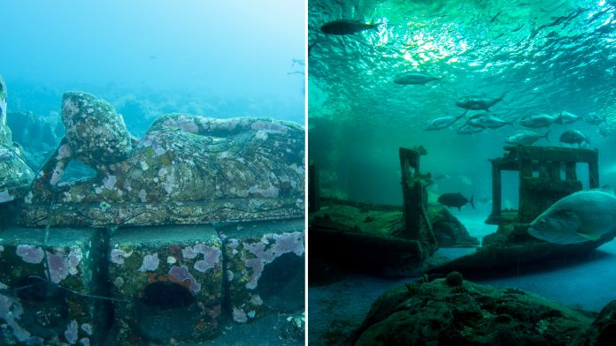 Fascinating Underwater Ruins