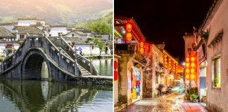 Hongcun Ancient Village In China