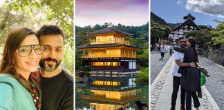 Sonam Kapoor & Anand Ahuja in Japan