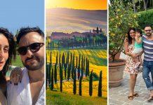 Saif Ali Khan & Kareena Kapoor in Tuscany