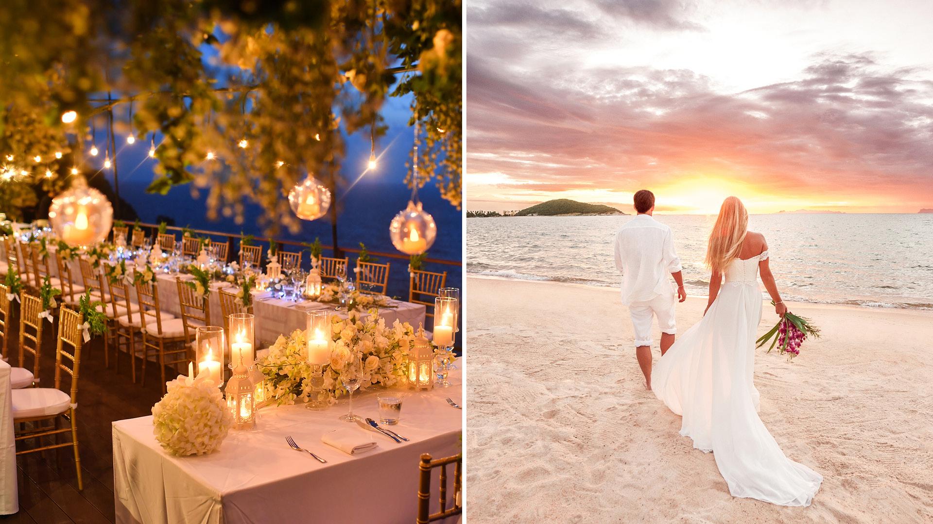 2019 Wedding Trend Alert! Top 5 Romantic Beach Wedding