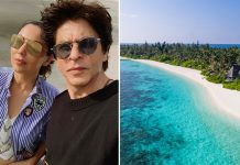 Shah Rukh Khan And Family In Maldives