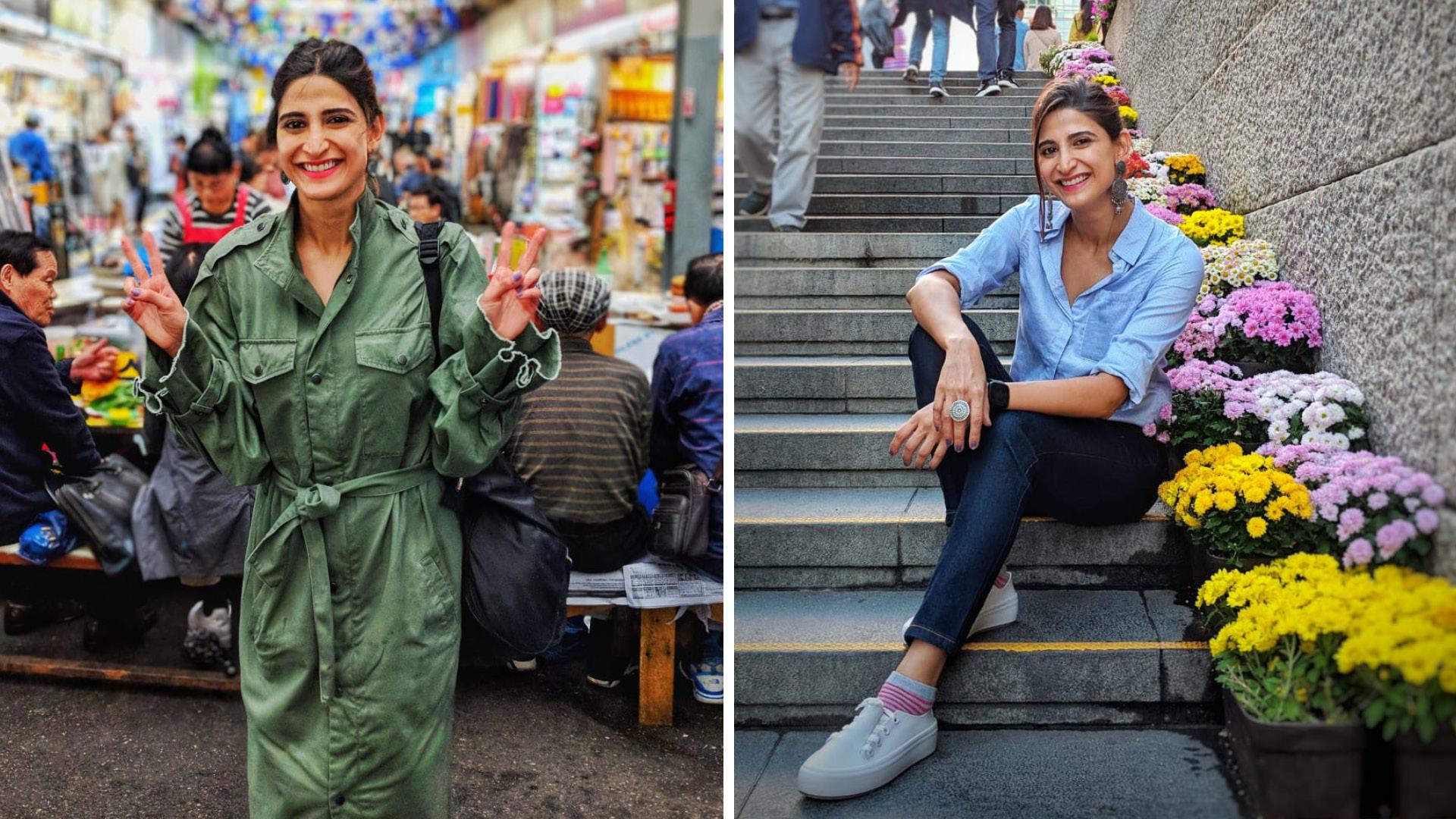 Here's How Aahana Kumra Planned Her Solo Trip To Korea!