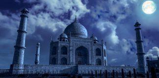 Taj Mahal During Night