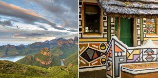Ndebele Village In Mpumalanga