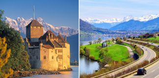 Three Facets Of Switzerland