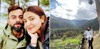 Virat Anushka Himalayas