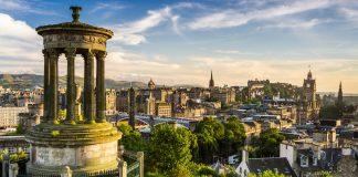 a day in Edinburgh