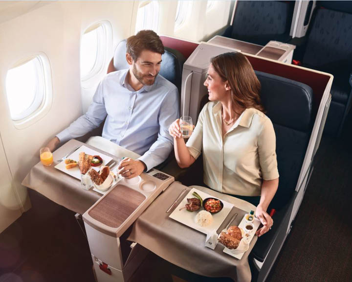 Turkish Airlines Business Class Experience
