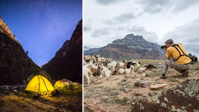Camping holidays in India