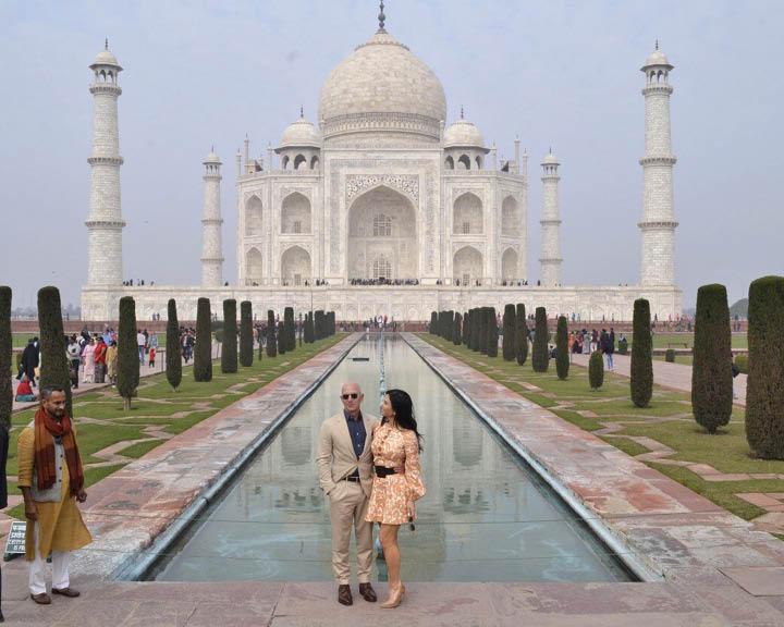 Jeff Bezos Taj Mahal