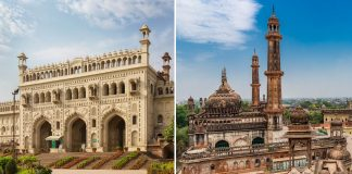 palace in lucknow that defies gravity