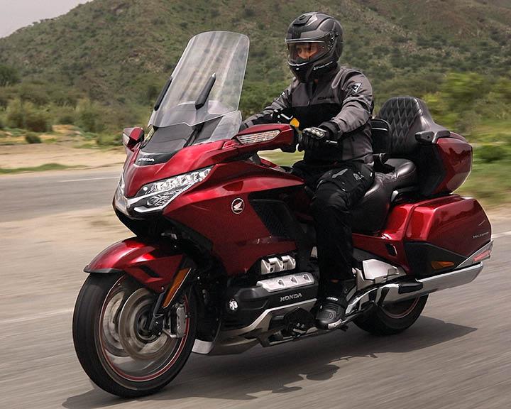Gaurav Gill Rides Honda Gold Wing