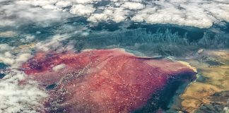 Lake Natron in Tanzania