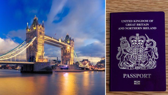 UK Blue Passport Post Brexit