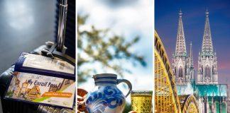 Four European Cities One Eurail Pass