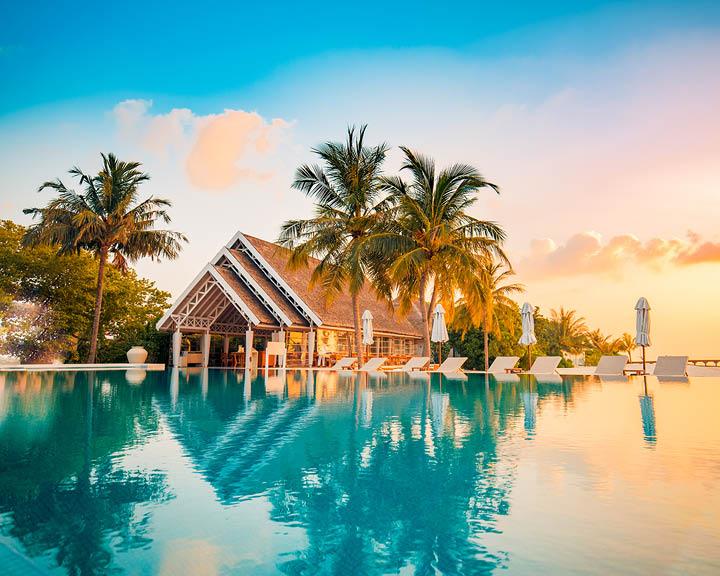 Resort wear beach