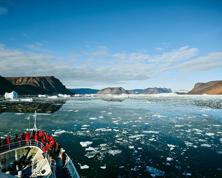 Sailing Above The Arctic Circle
