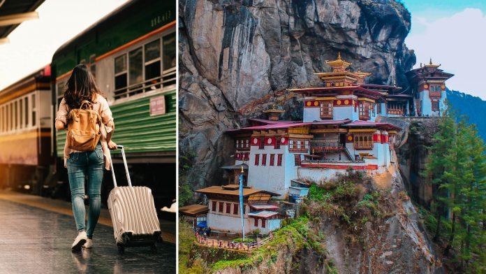 Train To Bhutan