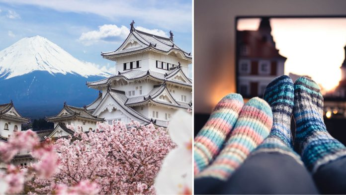 virtually travel to japan