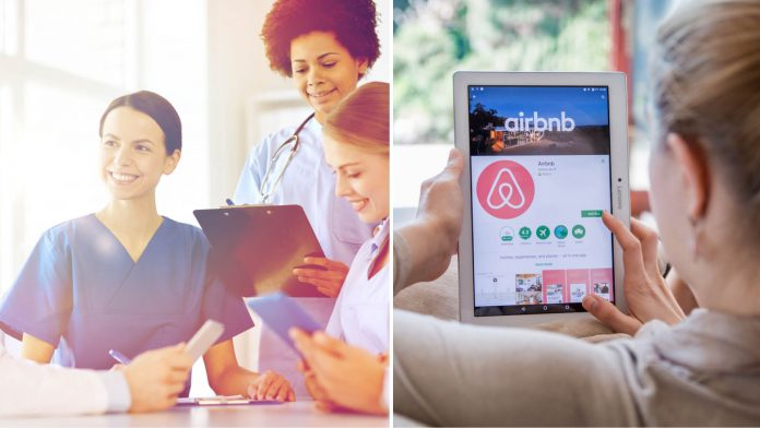 Airbnb Free Stays For Medical Workers