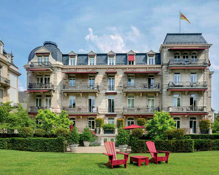The German Spa Town Of Baden-Baden