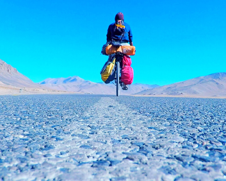 Cyclist Ankit Arora